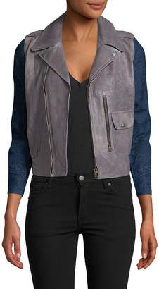 MiH Jeans Leather Biker Jacket