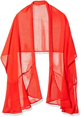 Orchid Row Women's Social Special Occasion Chiffon Ruffle Wrap O/S
