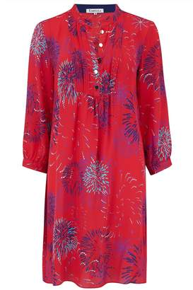 Libelula Chloe Dress Red Fireworks Print