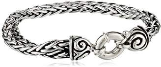 Zina Sterling Swirl Collection Double Chain Bracelet