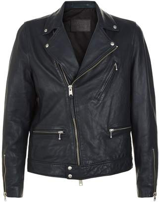 AllSaints Carver Leather Biker Jacket