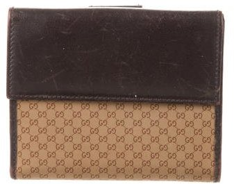 Gucci Gucci GG Compact Wallet