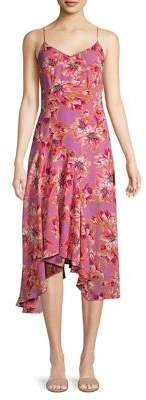 ASTR the Label Janine Floral Fit-&-Flare Dress