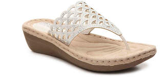 White Mountain Cliffs by Cameo Wedge Sandal - Women's