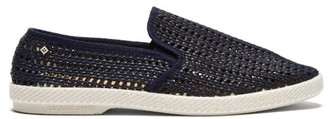Rivieras Nice Matin Woven Loafers - Mens - Blue