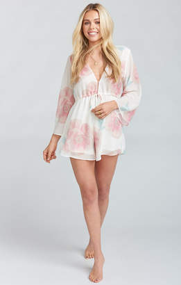Show Me Your Mumu Roxy Romper ~ GWSXMUMU Wedding Bells Floral