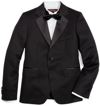 Brooks Brothers Boys One-Button Tuxedo Junior Jacket