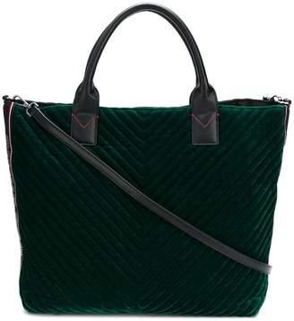 Pinko velvet shopping bag