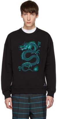 Kenzo Black Limited Edition Holiday Dragon Sweatshirt