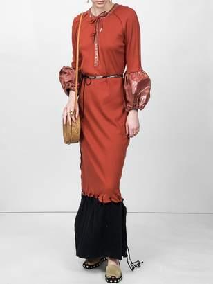 J.W.Anderson Puff sleeve maxi dress