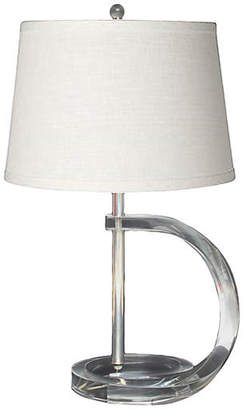 One Kings Lane Vintage Lucite & Chrome Lamp - I Dream in Vintage