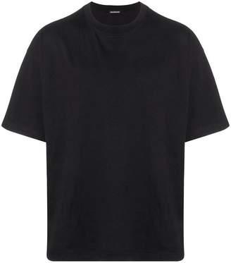 Balenciaga i love techno t-shirt black
