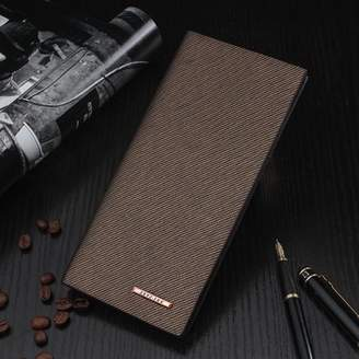 Grtsunsea FASHION Male PU Leather Bifold Cash Card Holder Long Wallet Bag Coin Purse Christmas Gift