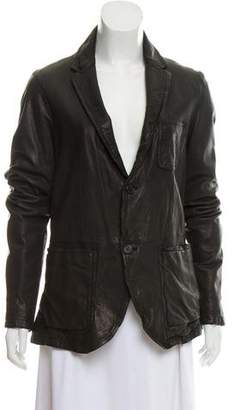 Neil Barrett Casual Leather Jacket w/ Tags