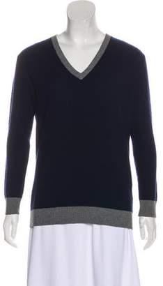 Madeleine Thompson V-Neck Knit Sweater