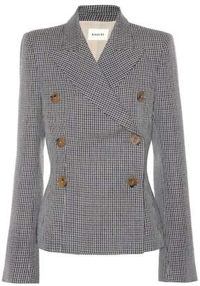 Khaite Cathy tweed blazer