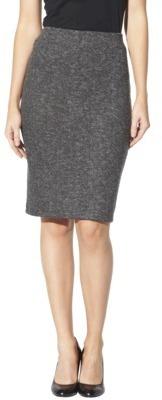 Mossimo Women's Ponte Pencil Skirt - Assorted Colors