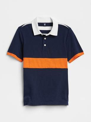 Gap Colorblock Polo Shirt