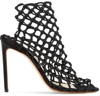 Stretch-crochet Sock Boots - Black