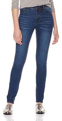 Parker Lily Women's Basic Stretch Denim Curvy 5 Pocket Skinny Jeans