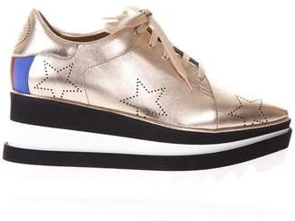 Stella McCartney Rosegold Faux Leather Sneak-elyse