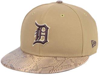 New Era Detroit Tigers Snakeskin Sleek 59FIFTY Fitted Cap