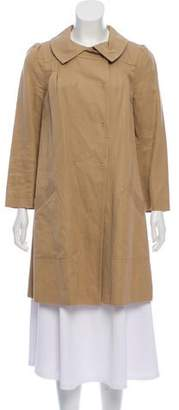 Philosophy di Alberta Ferretti Lightweight Knee-Length Coat