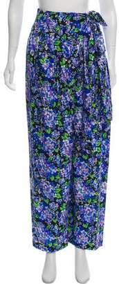Vika Gazinskaya Silk Floral Pants w/ Tags