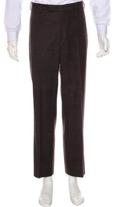 Billy Reid Halstead Wool Plaid Pants