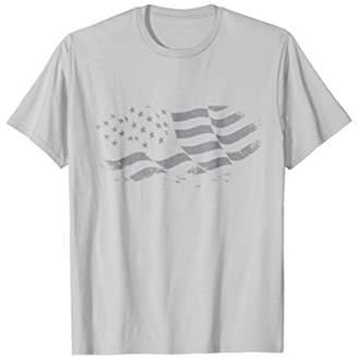 American Vintage Distressed Flag T-Shirt US Patriotic