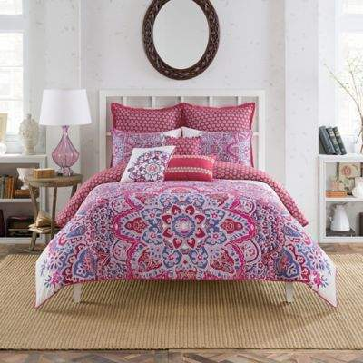 AnthologyTM Kaya European Pillow Sham in Berry