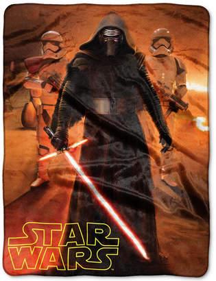 Disney Star Wars Kylo Ren Force Trio Plush Throw by