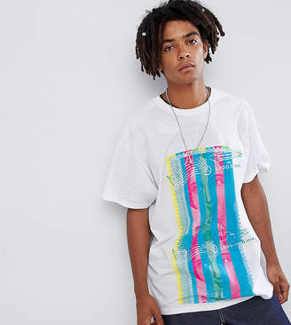 Reclaimed Vintage Inspired Oversized Stamp Print T-Shirt
