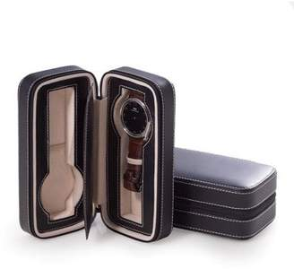 Bey-Berk Leather Travel Watch Case - 2