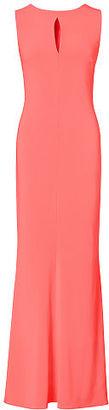 Ralph Lauren Cutout Stretch Crepe Gown $160 thestylecure.com