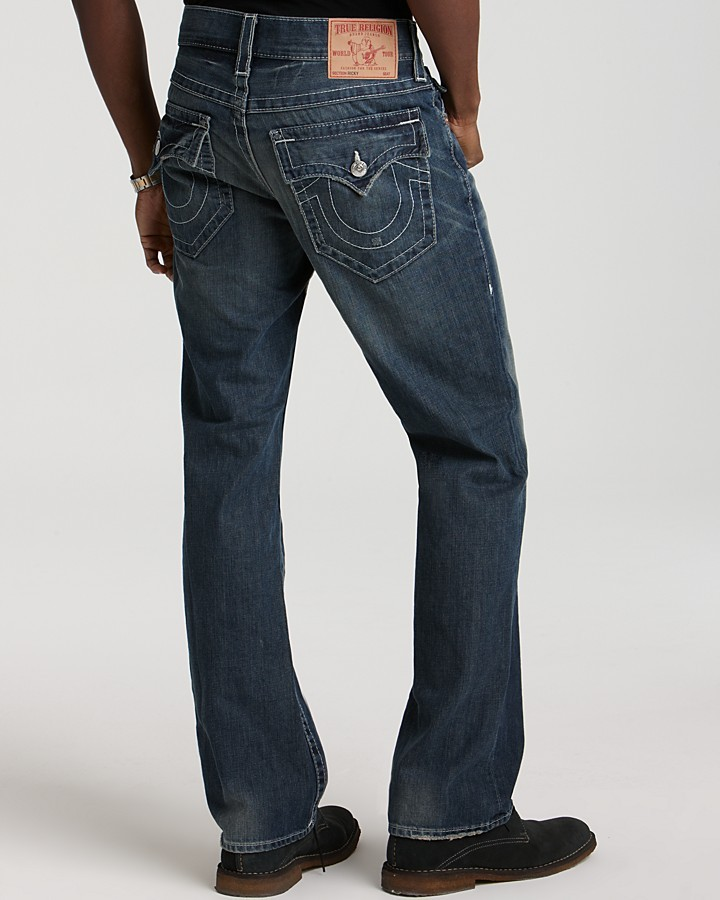 True Religion - Ricky Straight Fit in Surfer Dark 2