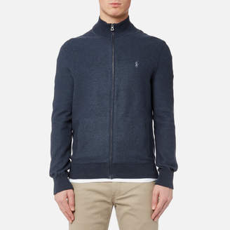Men's Full Zip Sweatshirt Winter Navy Heather
