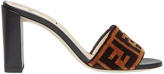Fendi Sabots woven sandals