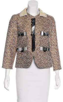 Marc Jacobs Embellished Tweed Blazer