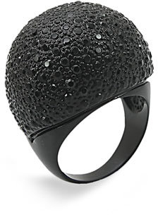 Ariella Collection Large Pavé Dome Ring