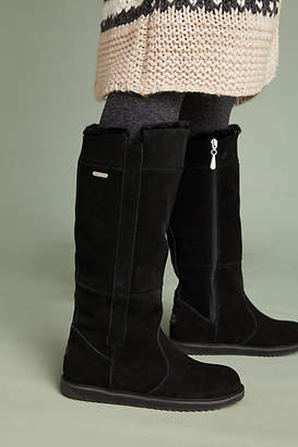 Emu Shearling-Lined Tall Boots