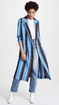Diane von Furstenberg Floor Length Jacket