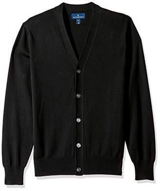 Buttoned Down Men's Supima Cotton Cardigan Sweater,Small