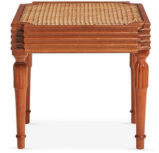 One Kings Lane Vintage West Indies British Colonial Side Table - Mark D. Sikes
