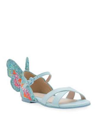 Sophia Webster Chiara Embroidered Butterfly Sandals, Toddler/Kids