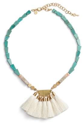 David Aubrey Priscilla Ivory Tassel Necklace