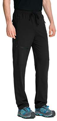 Co Trailside Supply Men's Light Weight Stretch Elastic-Waist Drawstring Track Running Gym Pants 4X-Large
