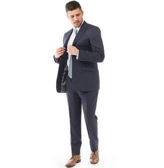 Ted Baker Mens Decdent Debonair Plain Suit Mid Blue