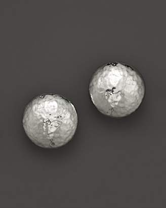 Ippolita Sterling Silver Glamazon Button Clip Earrings