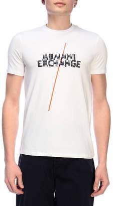 Armani Collezioni (アルマーニ コレッツォーニ) - Armani Collezioni Armani Exchange T-shirt T-shirt Men Armani Exchange